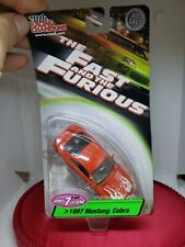 Racing Champions 1:64 Fast and the Furious Red 1997 Mustang Cobra Flames Series