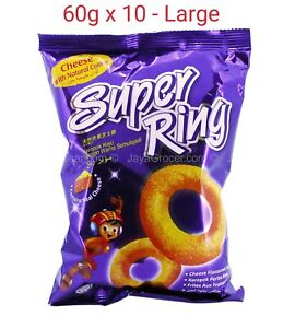 HOT DEAL!!! Super Ring CHEESE Snack . Great deals!!!