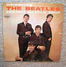 Introducing THE BEATLES VINYL RECORD Vee Jay VJLP1062 Microgroove