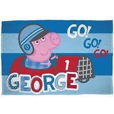 Peppa Pig George VITESSE COUVERTURE POLAIRE VOITURE NEUVE enfants