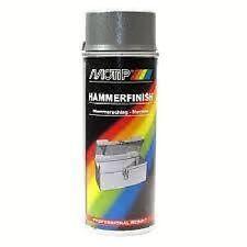 1 x Motip Hammerschlag Spray Lack Anthrazit 400ml  04017 1