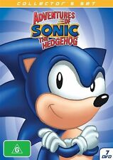 Adventures Of Sonic The Hedgehog (DVD, 2013, 7-Disc Set) - Region 4