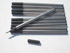 10 pcs HERO Roller ball pen refill M 0.5 mm Made in china Black ink