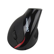Protable Wireless Ergonomic Design WOWPEN Vertical Optical Mouse JOY Wrist Pain