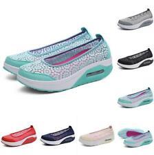 Size 35-41 Womens Nurse Lace Breathable Loafer Platform Work Casual Shoes Pumps