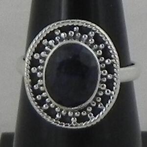 925 Sterling Fine Silver Emerald Gemstone Ring Sz C-Z Women Fest Gift RSP-1400