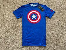NEW Under Armour Alter Ego Captain America compression shirt