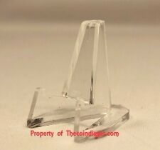 10 Display Stand Easel for Pocket Knives Hunting Knife Stands USA Air-tite CLEAR