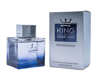 King of Seduction by Antonio Banderas 3.4 oz EDT Cologne for Men New in Box