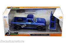 JADA JUST TRUCKS 1972 CHEVY CHEYENNE EXTRA WHEELS BLUE 1/24 DIECAST CAR 97685