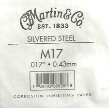 Martin & Co. - M17 - Corde à l'unité pour guitare acoustique - Acier