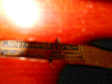 """New listing Vintage Old Antique Early 1900s """"John Friedrich & Bro"""" Full Size Violin - Nr"""