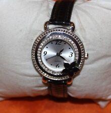 Crystal Flower Bezel Ladies Quartz Watch
