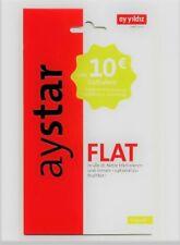 Ay Yildiz ✔ AyStar ✔ 10 € Guthaben ✔ Prepaid SIM Karte  ✔ O2&E-Plus ✔ Ayyildiz