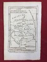 Eure et Loir en 1791 Nogent le Roi Jenville Chateaudun Authon Illiers Cloye Brou