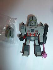 Megatron Kidrobot Transformers vs G.I. Joe vinyl mini series figure toy!