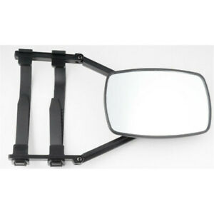 1Pc  Fit For RV Trailer Safe Hauling Adjustable Extension Clip-On Towing Mirror