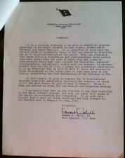 NAVAL Lot of 12 1981 NCC Conference Letter Gray AreAs Of Command World War 1 ...