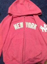 Preteen Girls' Pink New York Sweatshirt (Size: 8 -10)