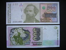 Argentina 500 Iles Australes 1988-90 (p328a) unc