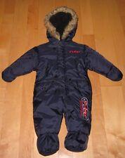 FUBU Boys Cute Navy Winter Snowsuit Snow Suit Jacket 6-9 Mos