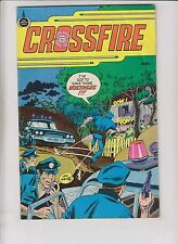 Crossfire #1 FN spire christian comics - al hartley - bronze age  49 cents cover