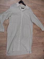 STEFANEL leggero bluse vestito verde chiaro TG 38 NUOVO scm318