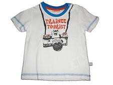 NEU Liegelind tolles T-Shirt Gr. 74 weiß mit Fotoapparat Motiv !!