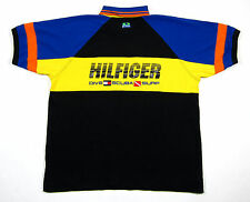 VTG 90S TOMMY HILFIGER SCUBA RUGBY SHIRT POLO SAILING LOTUS SPORT USA FLAG SURF