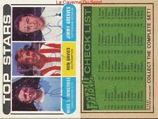 CHECK LIST 117 TO 170 ENGLAND CARD FOOTBALLER 1970 GREEN BACK AB&C
