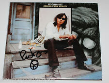 SIXTO RODRIGUEZ SIGNED 'COMING FROM REALITY' CD COVER BOOKLET TRIFOLD w/COA