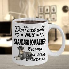 Standard Schnauzer Dog,Mittelschnauzer,Schna uzer,Wire-Haired,Cup,Schna uzers,Mug