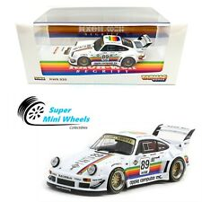 Tarmac Works 1:43 Rwb Porsche 930 Apple (White) #89