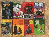 Batman Robbin Vol 1 2 3 Graphic Novel Lot TPB HC Hardcover Dark Nights Metal DC