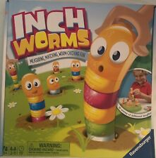 Inch Worms Measuring & Matching Game Ages 3+ Preschool Educational