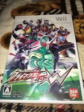 Wii - Kamen Rider Heroes W (Japan, Japanese, Import)