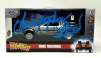 "CHRISTOPHER LLOYD Signed ""BACK TO THE FUTURE 2"" 1:32 DeLorean  BAS # WC77811"