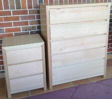 Chest of Drawers, Morgan Tallboy and Bedside