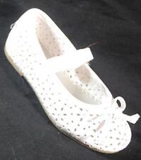 NEW Girls Toddler RACHEL SHOES LIL BRIT 2 WHITE  Flats Dress Shoes SZ 8