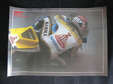 Poster HB Suzuki RG500 #- Randy Mamola (USA) (Folded) small