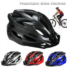 Cycling Bicycle Adult Men Womens Bike Helmet With Visor Mountain Shockproof