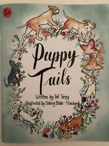 Childrens Book Nighttime Stories Puppy Tails Dogs Cats Animals Keepsake