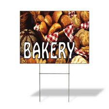 Weatherproof Yard Sign Bakery Outdoor Advertising Printing E Brown Lawn Garden