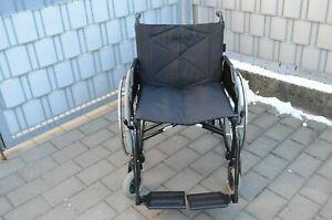 BeRolka-Aktiv sprint  XXL Rollstuhl extrabreit / Faltbar  SB 56cm **NEUWERTIG **