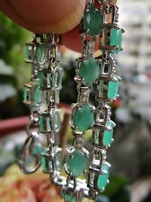 Beschichtete Armbänder mit Edelsteinen aus Sterlingsilber