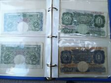 More details for job lot old british bank notes ww2 and after in britania album