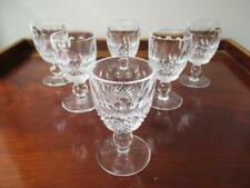 6 x Waterford Colleen Port Glasses