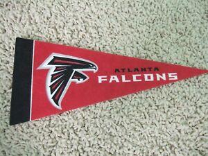"NEW Atlanta Falcons NFL Football Pennant Mini 9"" Souvenir Felt Flag Matt Ryan"