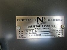 NL Industries Varistor Assembly 9RV6A201 600VDC 66A NEW