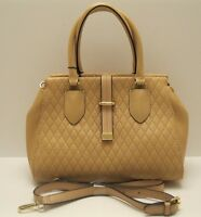 Purse Calvin Klein 😍 Nude Quilted Leather *REDUCED PRICE* Logo NWT L423 💖